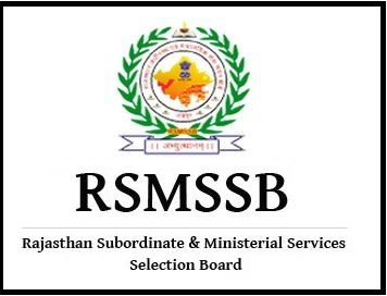 RSMSSB Recruitment 2018 – 400 Vacancies for Computor, Last Date: 27-03-2018