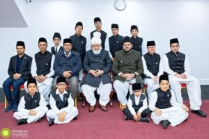 Huzoor's audience with waqifeen-e-nau of Ireland