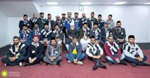 Qaids of Majlis Khuddam-ul-Ahmadiyya UK Meet Huzoor