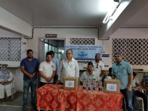 MKA Pune Joins with Humanity First India, Distributes Water and Sherbet at Hospital and Bus stand.