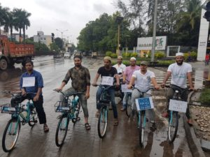 Cycling for Peace at Pune