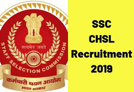 SSC CHSL Recruitment (2019) – Vacancies for LDC, PA and DEO, Last Date: 10-01-2020