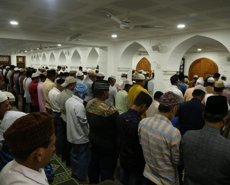 Namaz-e-Tahajjud at Masjid Aqsa on Day 1 of National Ijtema 2018