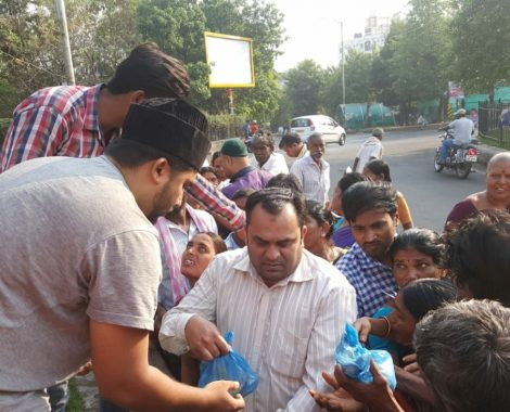 Food and Charity Drive by MKA Hyderabad