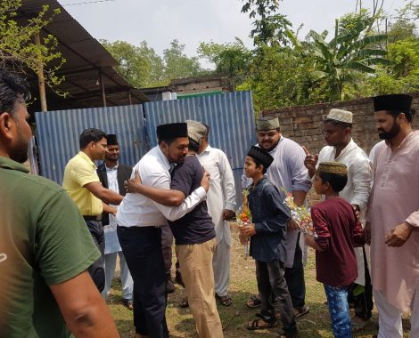 Sadr Majlis Khuddamul Ahmadiyya Bharat  at Ijtema district east Singhbhum Jharkhand.
