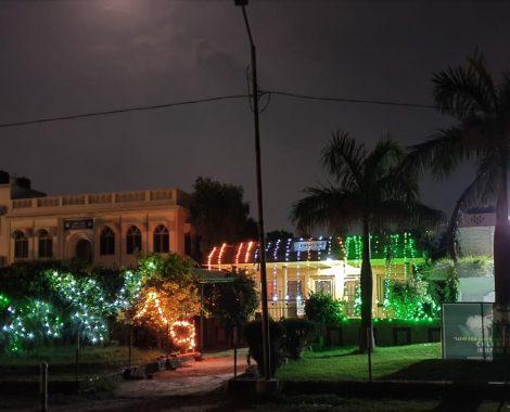Independence day celebrations at Aiwan-e-Tahir Office of MKA Qadian